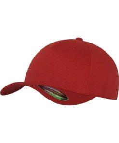 Flexfit Cap Rot 5 PANNEAUX - Fitted