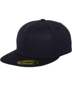 Premium Cap 210 Schwarzblau 6 PANNEAUX - Fitted