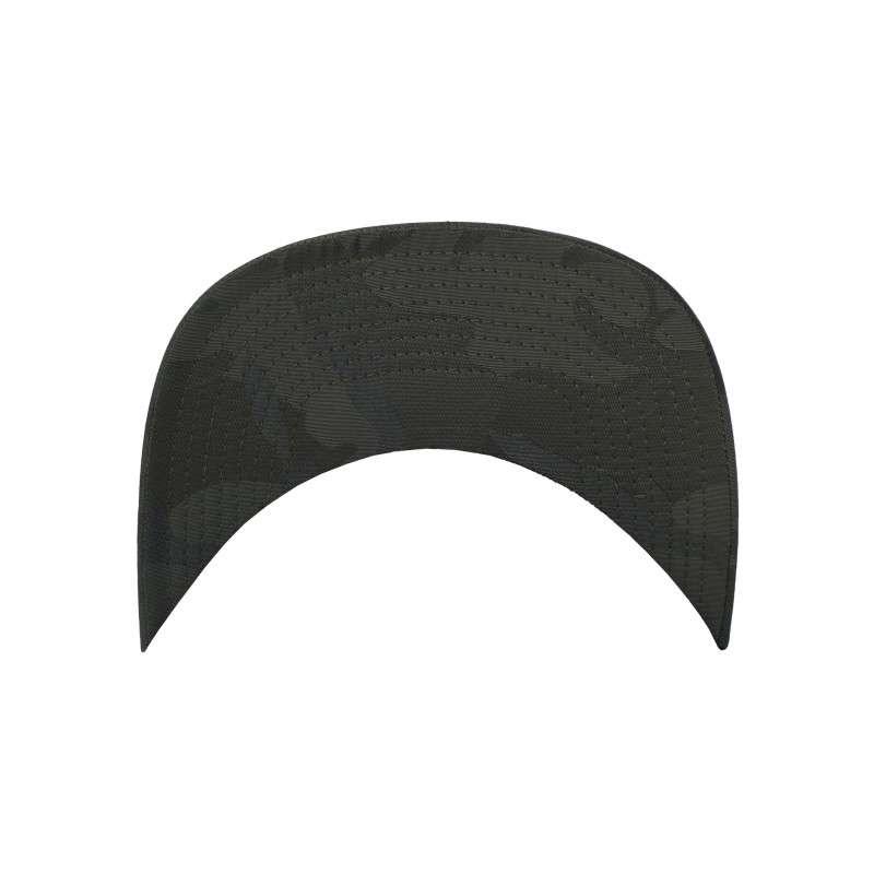 Snapback Cap Camo Olive 6 panneaux, ajustable Schild
