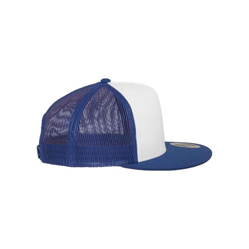 Snapback Cap Classic Trucker Blau, ajustable Seitenansicht rechts