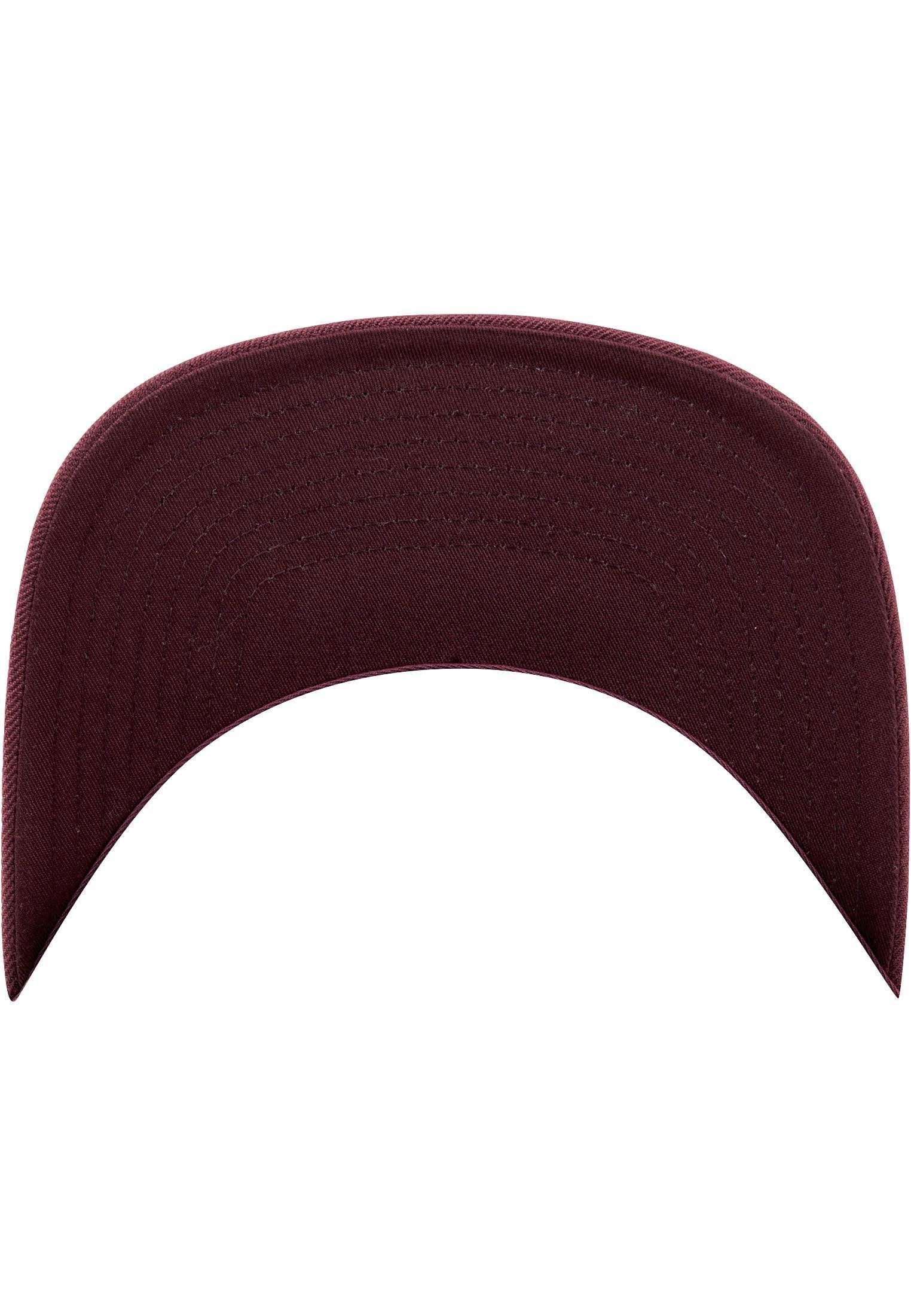 Snapback Cap besticken - Snapback Cap Classic dunkelrot/dunkelrot 6 PANNEAUX verstellbar Unterschild