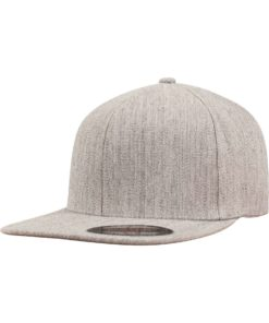 Flexfit Flat Visor heather - Fitted