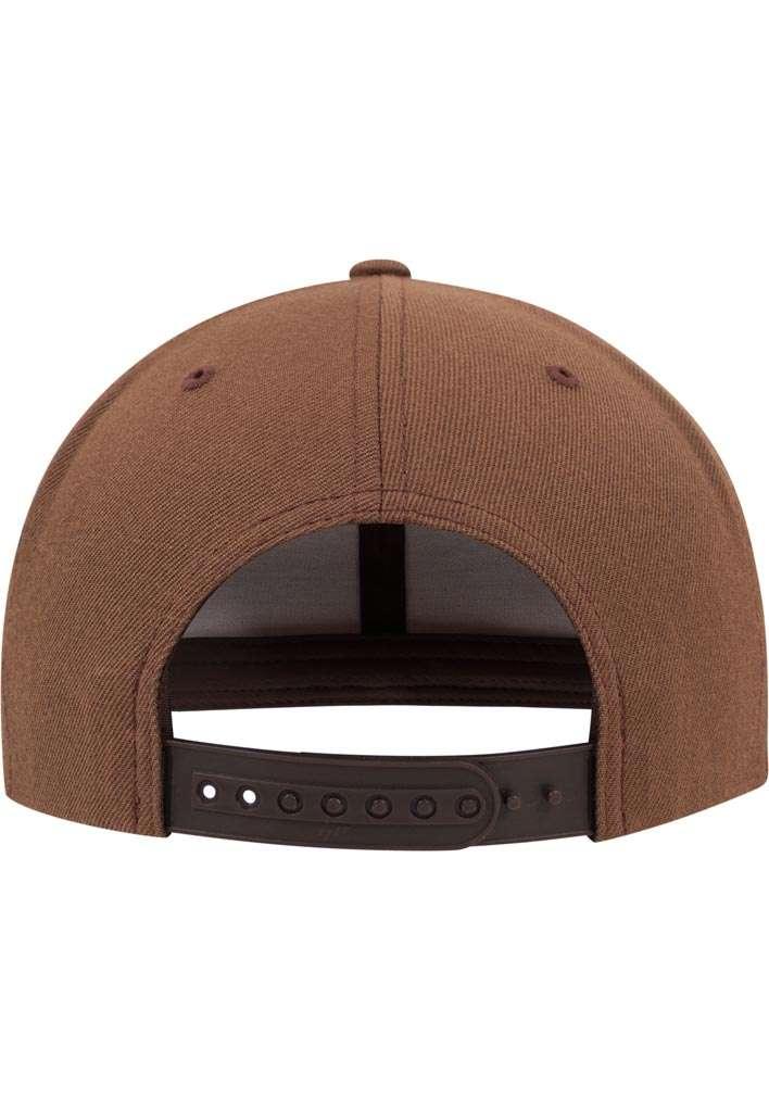 Snapback Cap Classic Tan 6 panneaux, ajustable Ansicht hinten