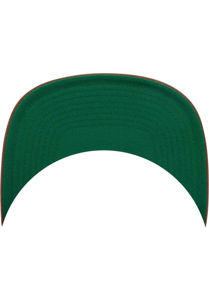 Snapback Cap Classic Tan 6 panneaux, ajustable Schild