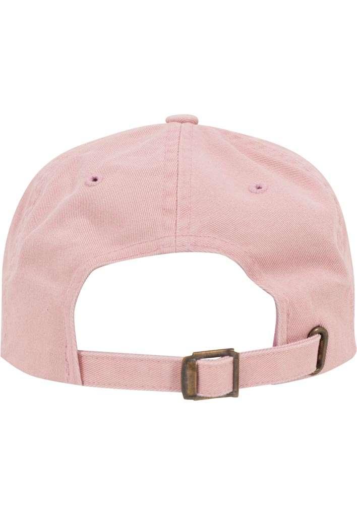 FlexFit Low Profile Destroyed Pink Cap 6 panneaux, ajustable Ansicht hinten