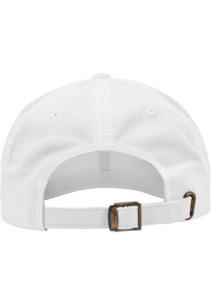 FlexFit Low Profile Destroyed Weiss Cap 6 panneaux, ajustable Ansicht hinten