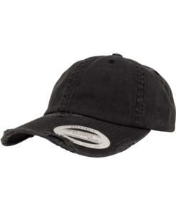 FlexFit Low Profile Destroyed Cap 6 panneaux, ajustable