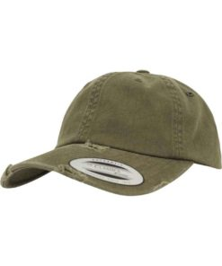 FlexFit Low Profile Destroyed Buck Cap 6 panneaux, ajustable
