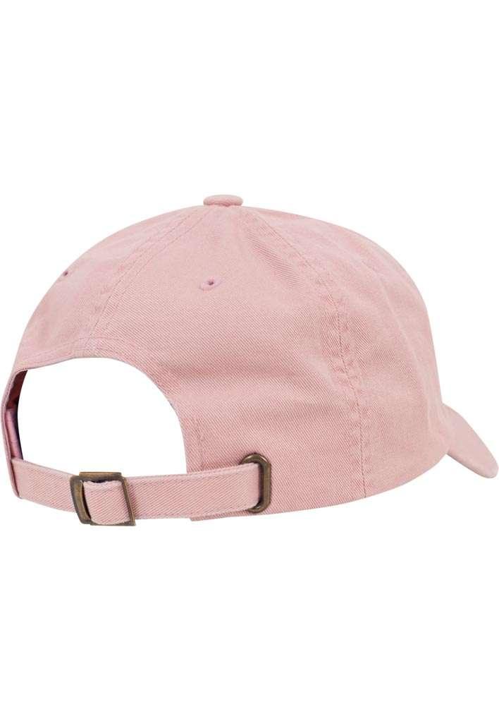 FlexFit Low Profile Destroyed Pink Cap 6 panneaux, ajustable Seitenansicht hinten