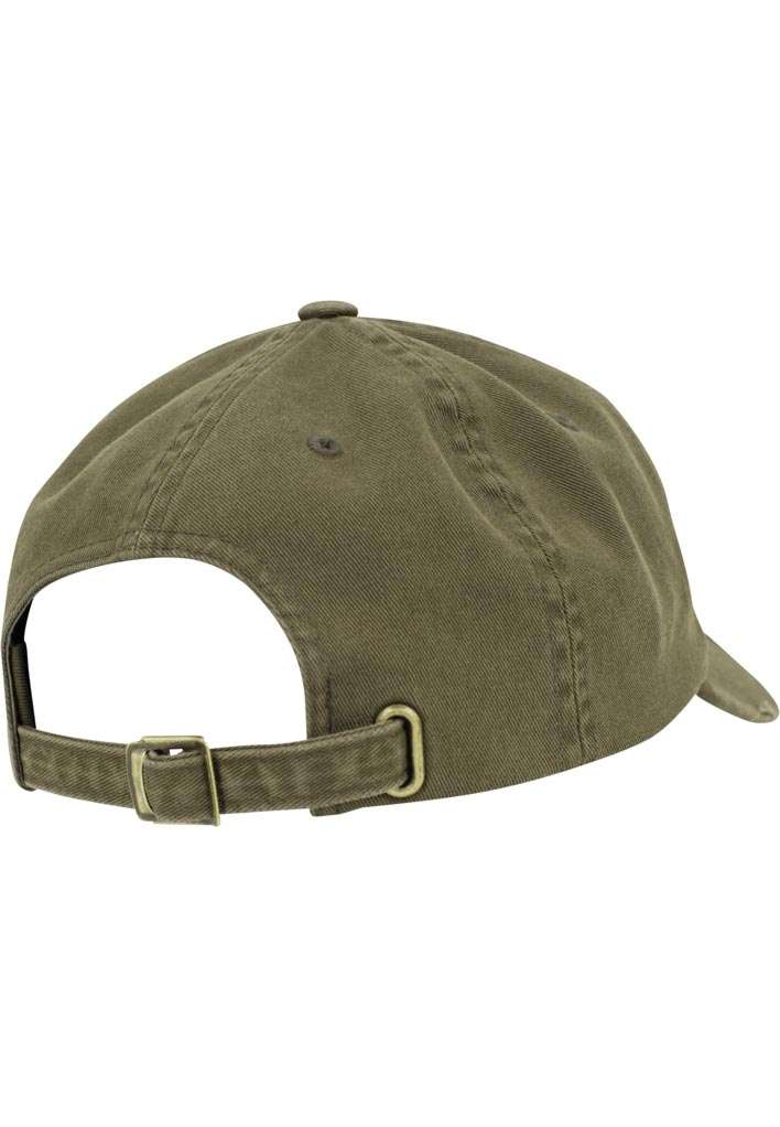 FlexFit Low Profile Destroyed Buck Cap 6 panneaux, ajustable Seitenansicht hinten