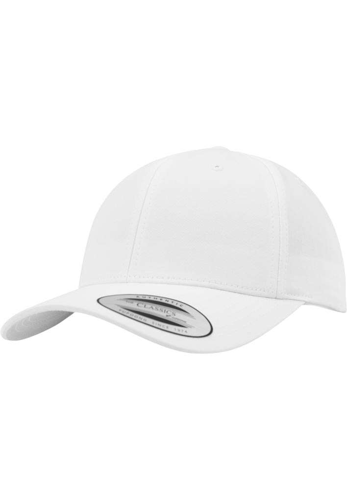 FlexFit Low Profile Destroyed Weiss Cap 6 panneaux, ajustable