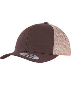Trucker Cap Mesh Braun/Braun/Khaki, ajustable