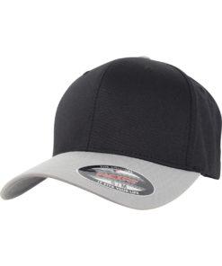 Flexfit Cap 2-Tone schwarz silber
