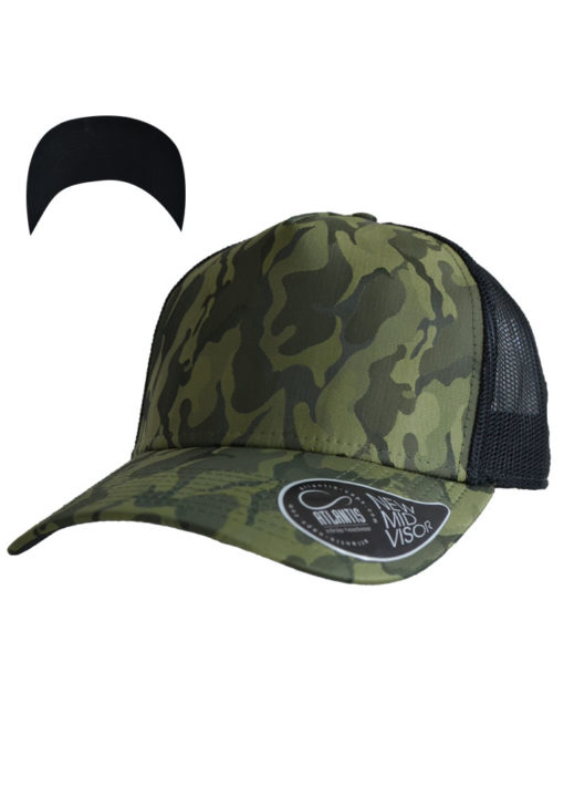 atlantis-rapper-camou-trucker-cap-olive-black-verstellbar