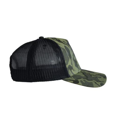 atlantis-rapper-camou-trucker-cap-olive-black-verstellbar-rechts