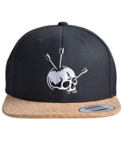 cap-skull-arrow-black-cork